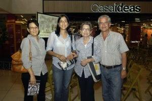 Brenda Macarrulla, Patricia Méndez, Dalacia Alan y Fernando García