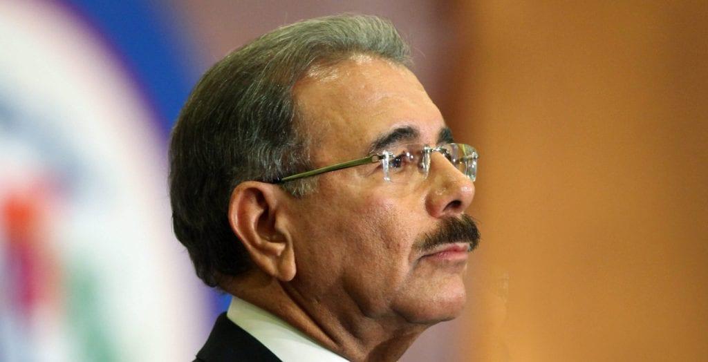 Danilo Medina, presidente de la República.