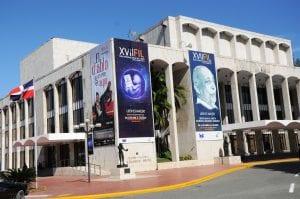 Teatro Nacional donde se  desarrollará la ceremonia inaugural.