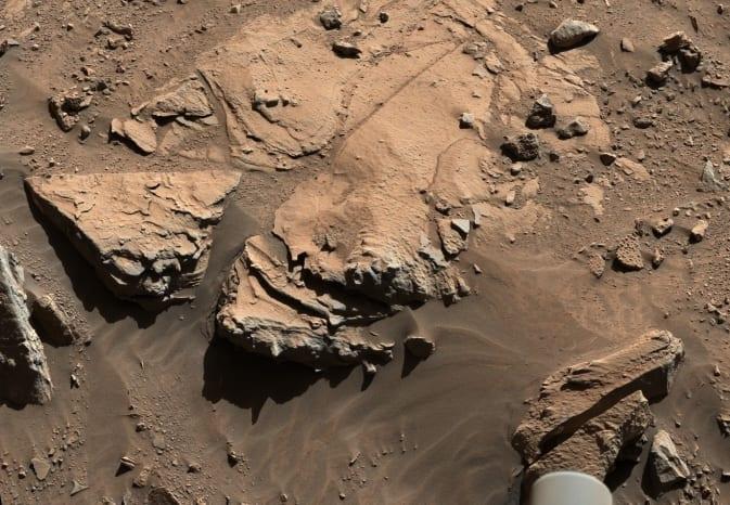 La roca marciana.