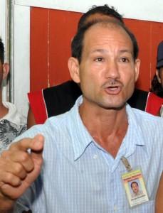 """Sergio González, presidente de la Junta de Vecinos """"Ramón Antonio Meléndez""""."""