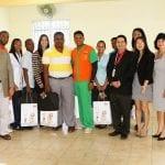 Ejecutivos de Huawei, Ejecutivos Orange y Jóvenes Maria Auxiliadora.
