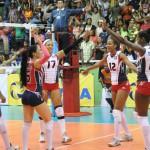 Por séptima dominicana va al mundial de voleibol.