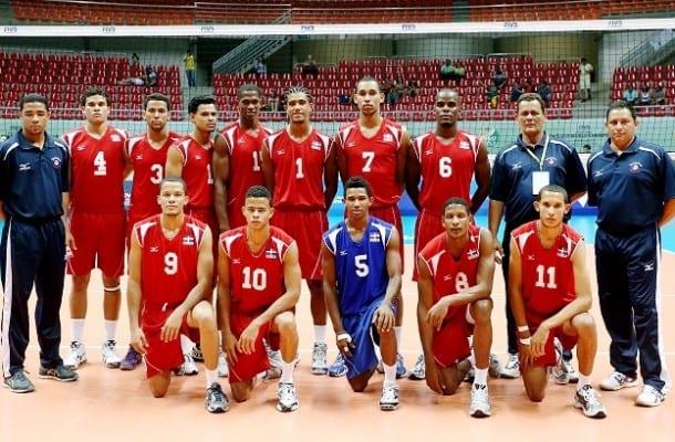 integrantes del equipo de voleibol femenino de puerto rico