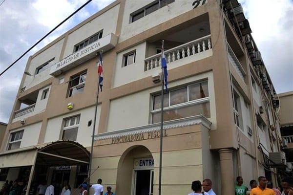Sede de la Fiscalía de Santo Domingo.