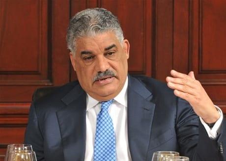 Miguel Vargas, presidente del PRD.