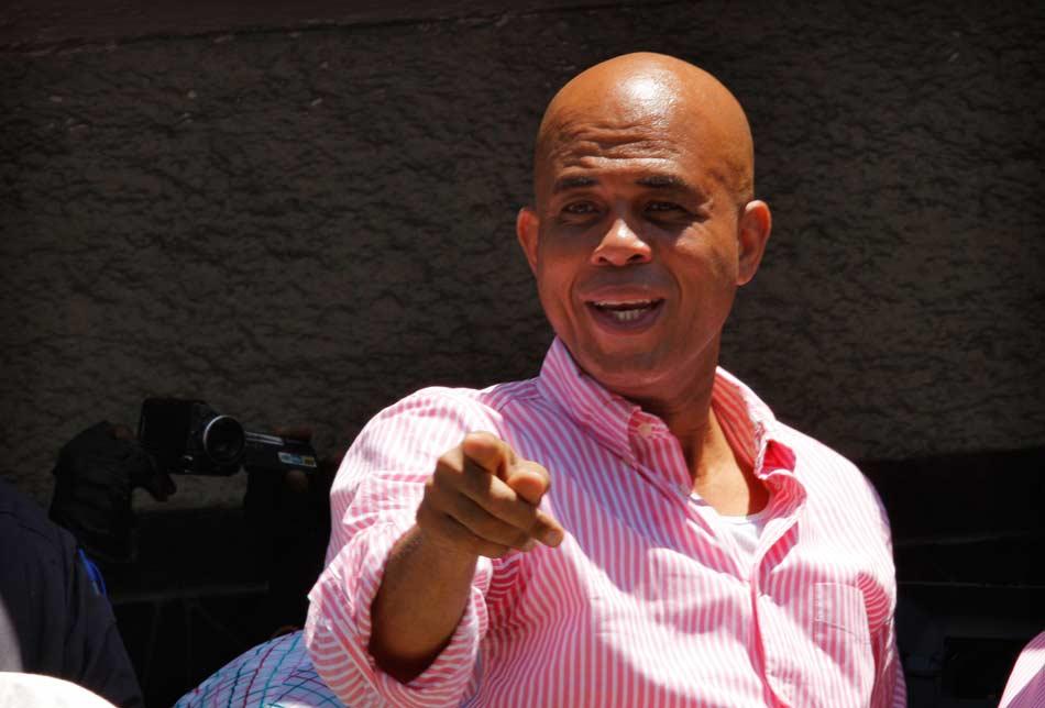 Michel Martelly, presidente de Haití.