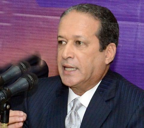 Reinaldo Pared, Pérez, secretario general del PLD.