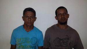 Los detenidos en fotografías difundidas por la Policía Nacional.