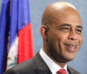 Michel Martelly, presidente haitiano.