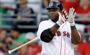 David Ortiz toletero de Boston.