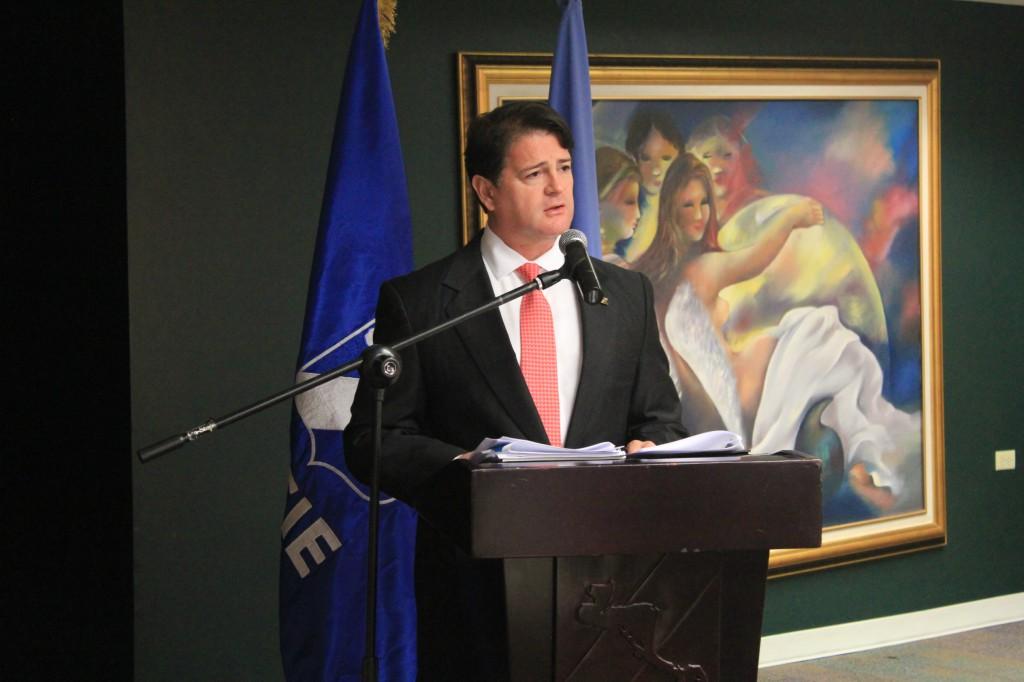 El Presidente Ejecutivo en Funciones del BCIE, Abogado Alejandro Rodríguez Zamora expreso su deseo de continuar contribuyendo al fortalecimiento institucional y a la construcción de capacidades para que los países de la región puedan elevar la equidad de género y el empoderamiento de la mujer a todo nivel.