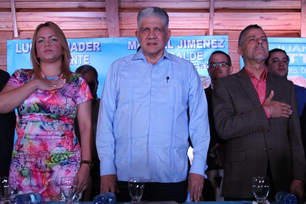 Manuel Jiménez aspira a la alcaldía del Municipio Santo Domingo Este.