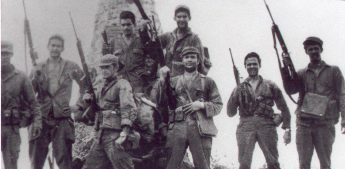 Hamlet Hermann integró el grupo de guerrillero que encabezó el coronel Francisco Alberto CaamañoDeñó.