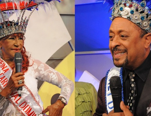 Fefita La Grande y Michael Miguel, Reyes del Carnaval.