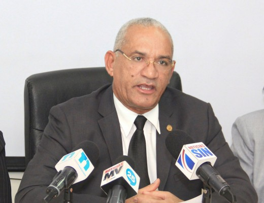 Pedro Rodríguez, presidente del Colegio Dominicano de Notarios.
