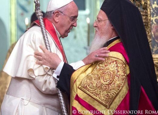 Papa Francisco y el Patriarca