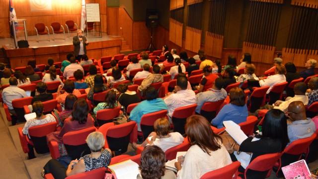 Parte del público asistente a la actividad.