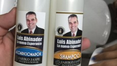 Champú Luis Abinader.