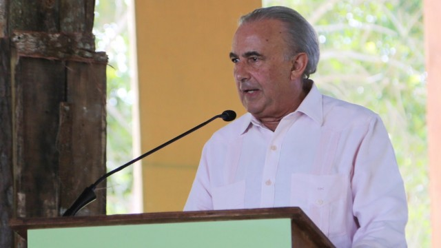 Gustavo Cisneros, inversioistas en el sector turístico en República Dominicana.
