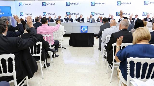 Los accionistas conocieron  y aprobaron el Informe escrito de Gestión del Consejo de Administración sobre las operaciones del Banco Popular Dominicano.