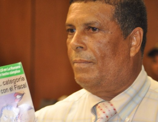 El periodista Jose A.Silvestre.Hoy/Franklin Guerrero