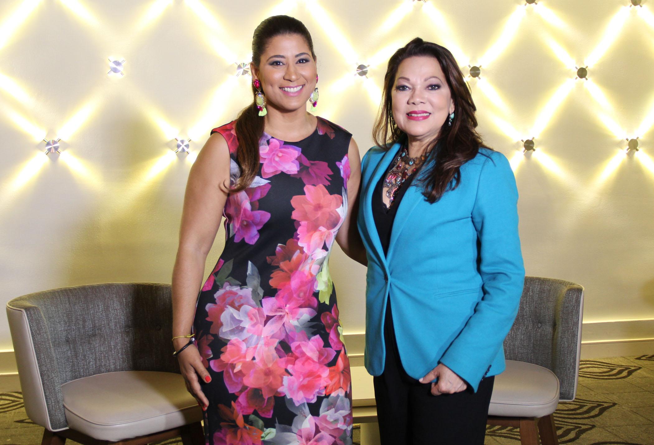 Ángela y Yenni