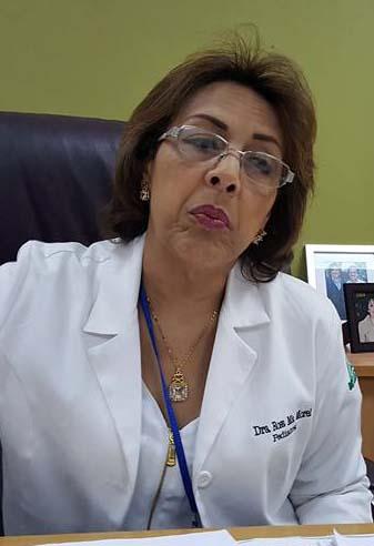 Rosa María Morel , directora del Hospital Infantil Cabral y Báez.