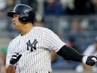 Alex Rodriguez, bateador designado en los Yankees.