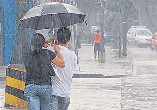 Habrá aguaceros dispersos en algunas provincias, según Onamet
