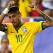 Neymar, brasileño, una de las estrellas del fútbol mundial.