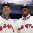 Mike Piazza and Ken Griffey Jr.