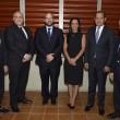 Luis Julio Jiménez, Samuel Arias Arzeno, José Ricardo Feris, Rosa Díaz, Marcos Peña Rodríguez y Juan Francisco Puello Herrera