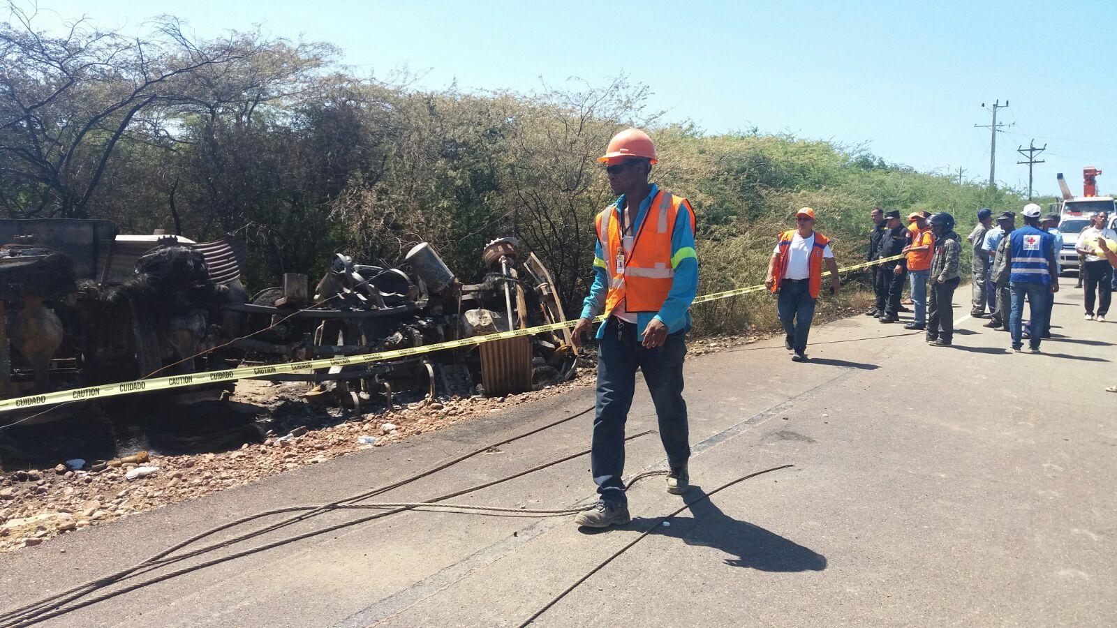 Inicio Provincias SANTIAGO: Muere conductor al chocar camión cargado GLP