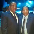 Lic. Danilo Díaz Vizcaíno Ministro de Deportes y Lic. Braulio Ramírez Director Ejecutivo de la Federación Dominicana de Ajedrez.