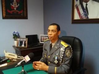 Nelson Rosario relacioniador público de la Policia Nacional.