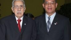 Foto 1 - José Joaquín Pérez Saviñón y Wilson Gómez Ramírez, presidente y vicepresidente.