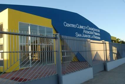 Resultado de imagen para centro clinico y diagnostico de san juan dela maguana