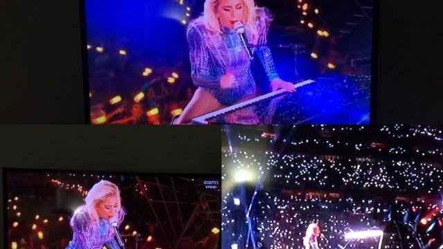 Espectacular estuvo Lady Gaga en el Súper Bowl.