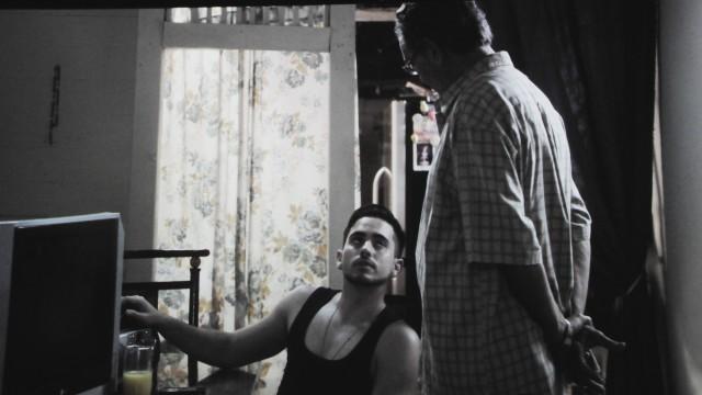 Escena de la película Voces de las Calles.