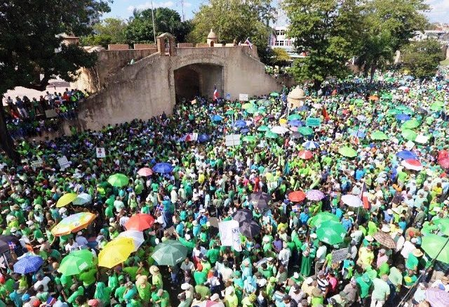 Marcha Verde hará señalamientos concretos de corruptos en manifestación este domingo