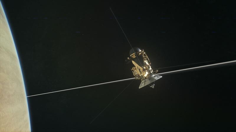 Resultado de imagen de El instrumento de Cassini RPWS,