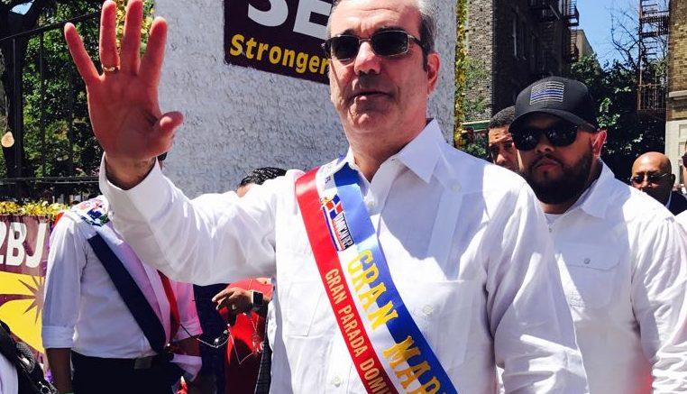 Abinader dice dominicanos son gran fuerza en NYC