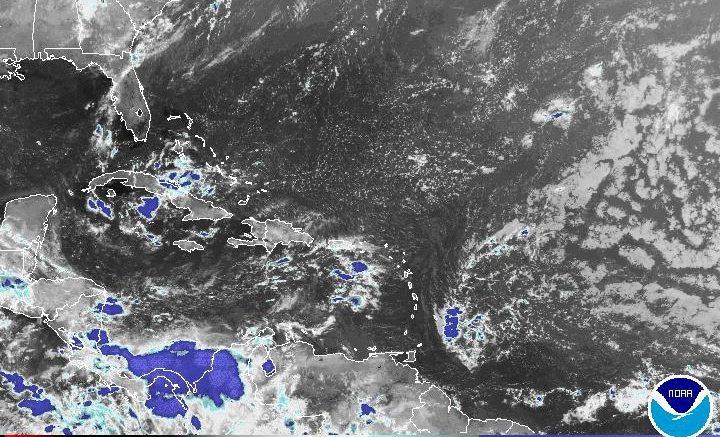 Vaguada provocará aguaceros en algunas regiones; se acerca onda tropical