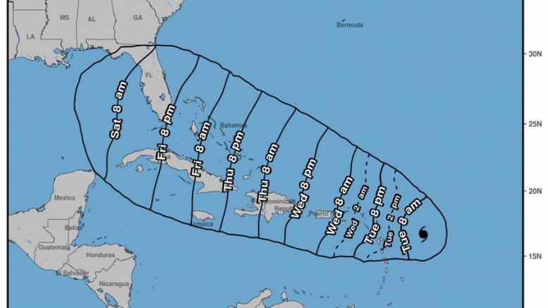 Alerta en Dominicana por huracán Irma