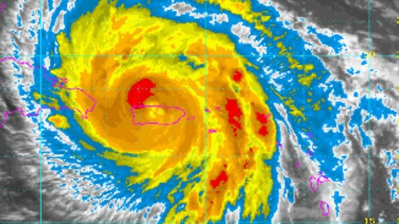 Paso de María por República Dominicana generó fuertes lluvias e inundaciones