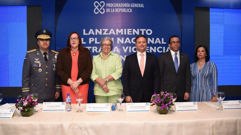 Instituciones del Gobierno presentan plan contra la violencia de género