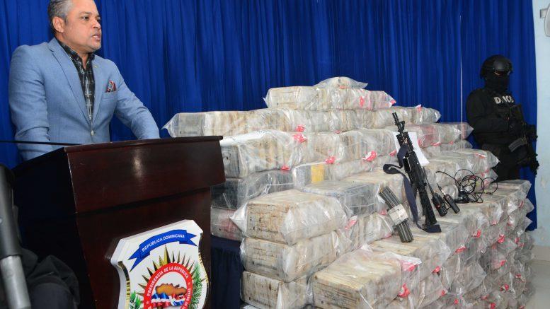 Incautan más de 1.000 paquetes de droga en República Dominicana