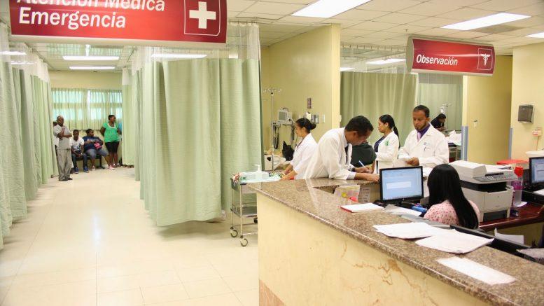 Área Emergencia Hospital Ney Arias Lora