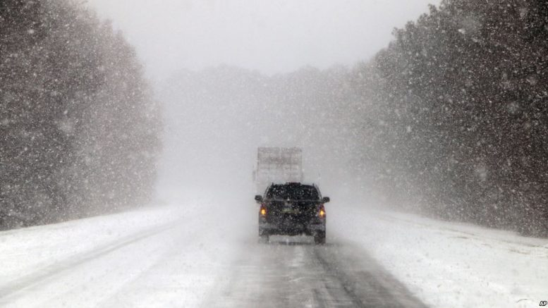 La histórica tormenta invernal que está congelando Estados Unidos